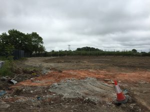 Completed Site Clearance